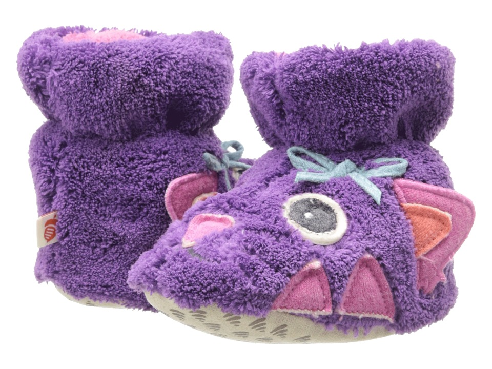 Acorn Kids Easy Critter Bootie (Infant/Toddler) (Kitty) Girls Shoes