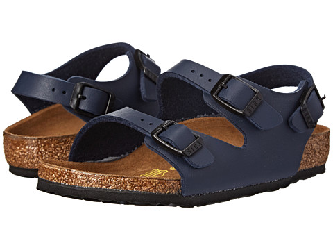 Birkenstock Kids - Roma (Toddler/Little Kid/Big Kid) (Blue Birko-Flor!) Girls Shoes