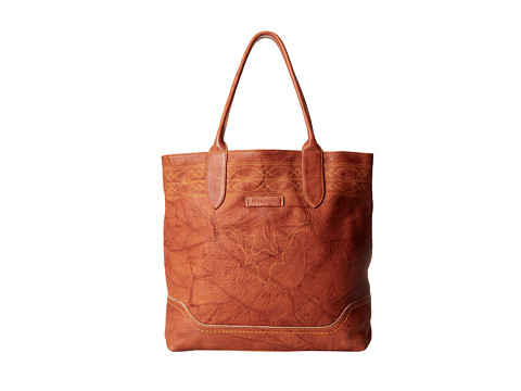 Frye - Campus Stitch Tote (Saddle) Tote Handbags