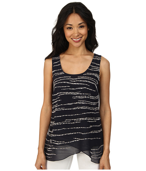NIC+ZOE - Shining Stars Top (Midnight) Women's Sleeveless
