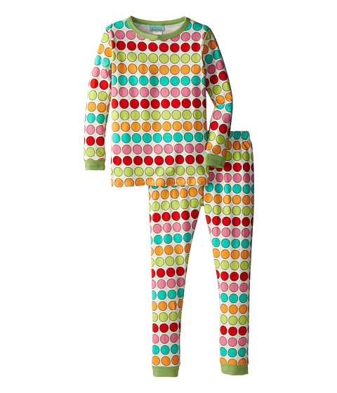 BedHead Kids - Snug Fit L/S Classic PJ (Big Kids) (Multi Twister) Girl's Pajama Sets