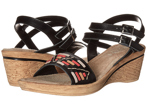 Bella-Vita - Padova (Black Multi) Women's Sandals
