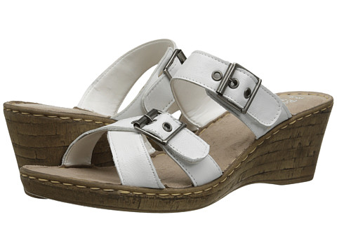 Bella-Vita - Modena (White) Women's Sandals