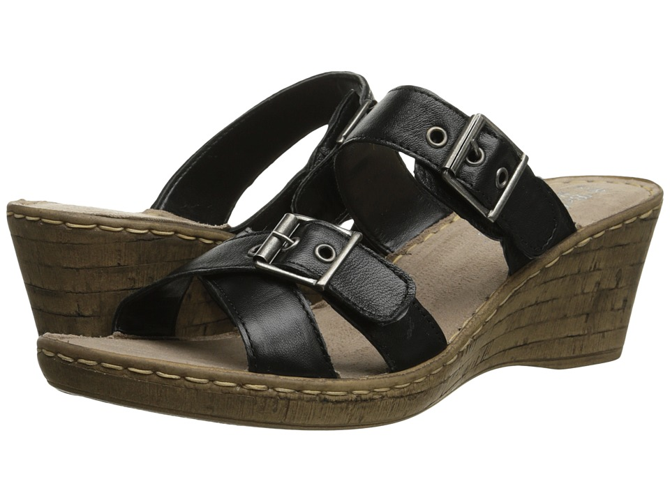 Bella-Vita - Modena (Black) Women's Sandals