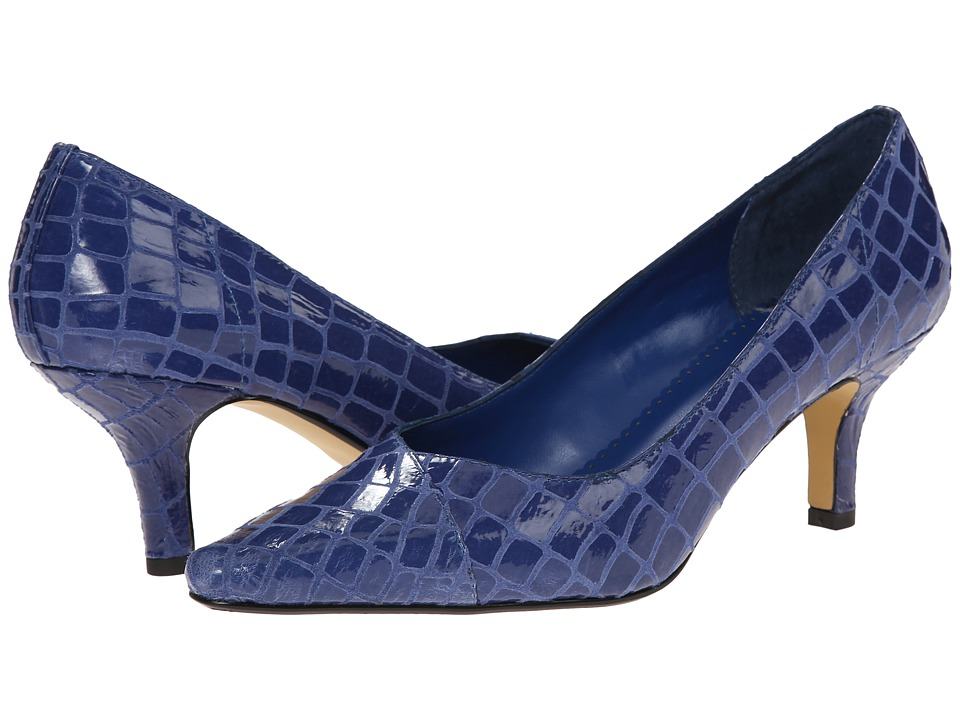 Bella-Vita - Wow (Mediterranean Blue Alligator) High Heels