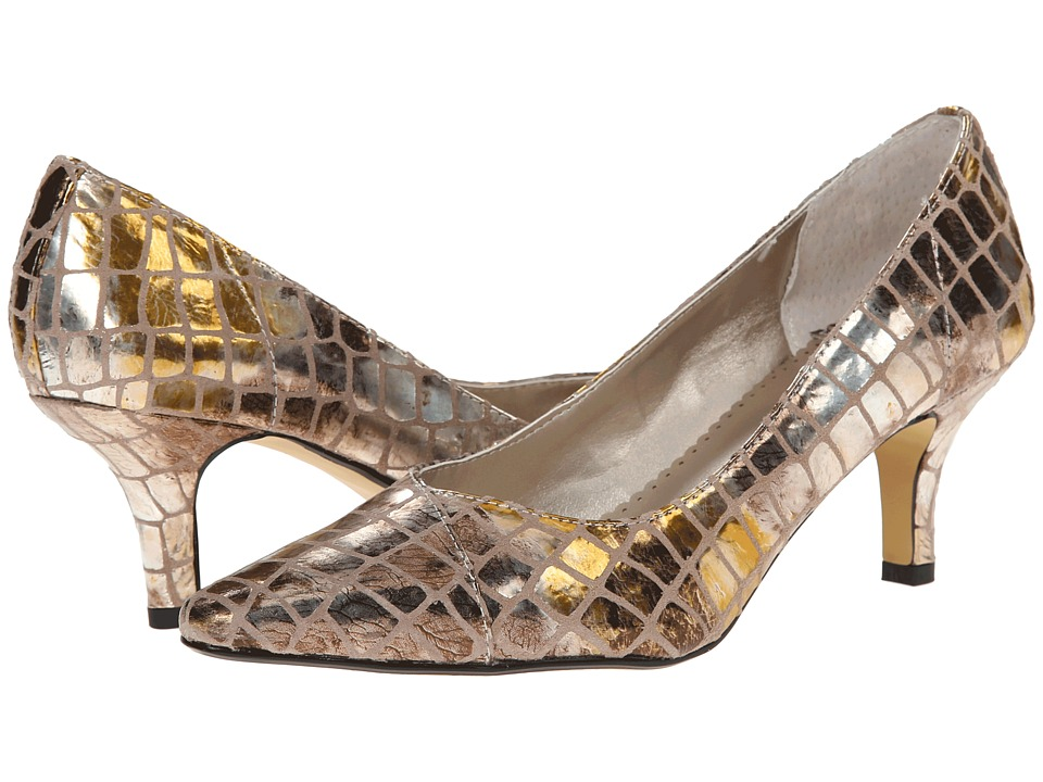 Bella-Vita - Wow (Metallic Alligator) High Heels
