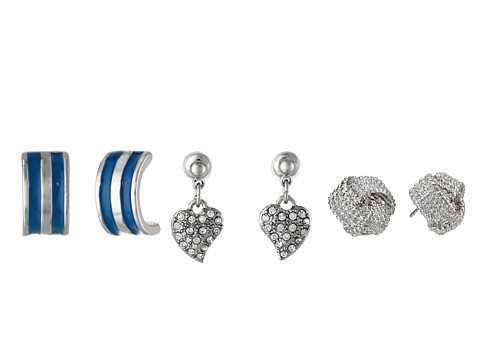 GUESS - Trio Set Earring (Silver/Blue) Earring