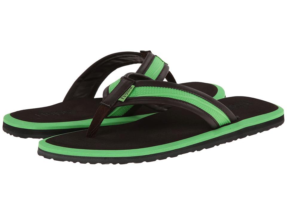 Flojos - Jason (Lime/Brown) Men's Shoes