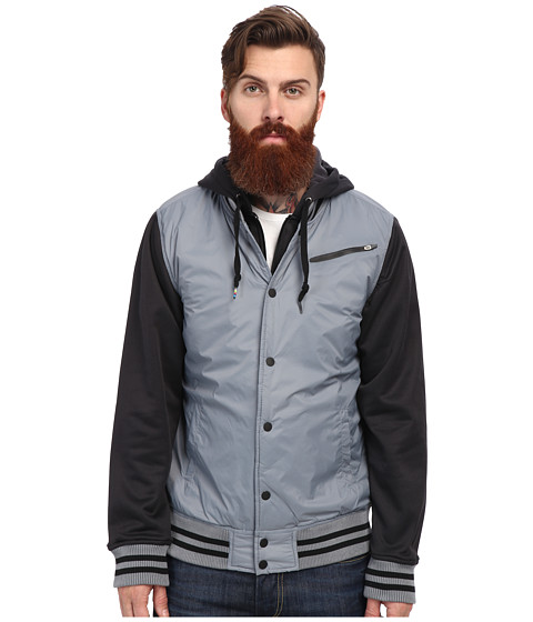 Hurley - Therma-FIT All City Fleece Jacket (Cool Grey) Men