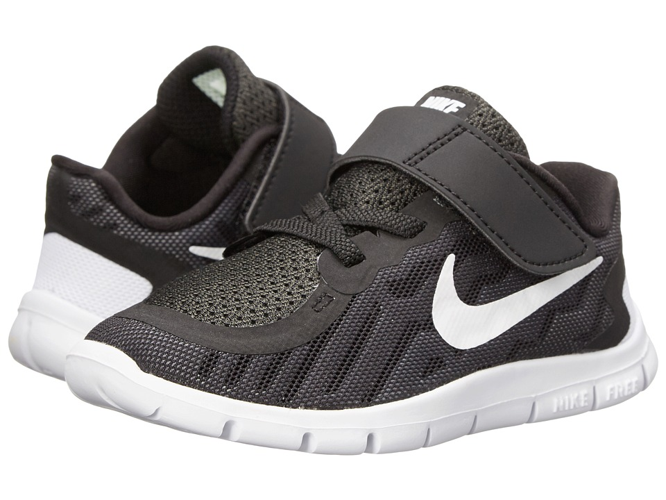Nike Kids Free 5 (Infant/Toddler) (Black/Dark Grey/Cool Grey/White) Boys Shoes