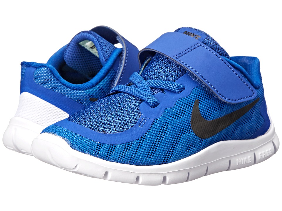 Nike Kids - Free 5 (Infant/Toddler) (Game Royal/Neo Turquoise/Light Retro/Black) Boys Shoes