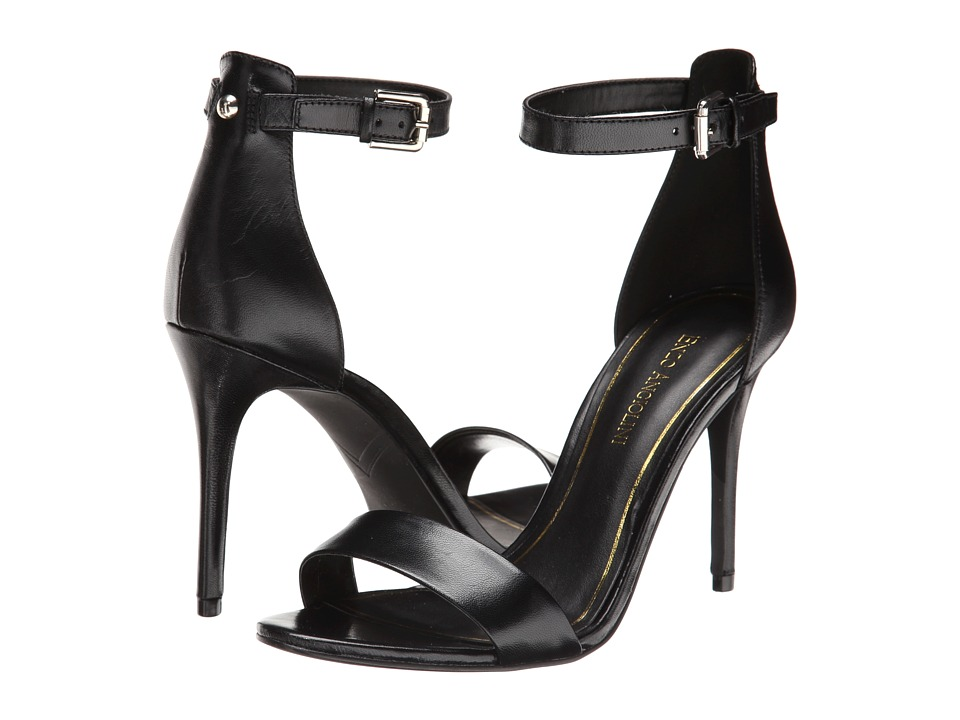 Enzo Angiolini Manna (Black Leather) High Heels