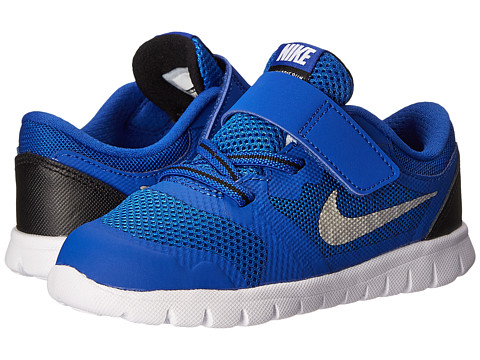 Nike Kids - Flex 2015 Run (Infant/Toddler) (Game Royal/Black/White 4) Boys Shoes
