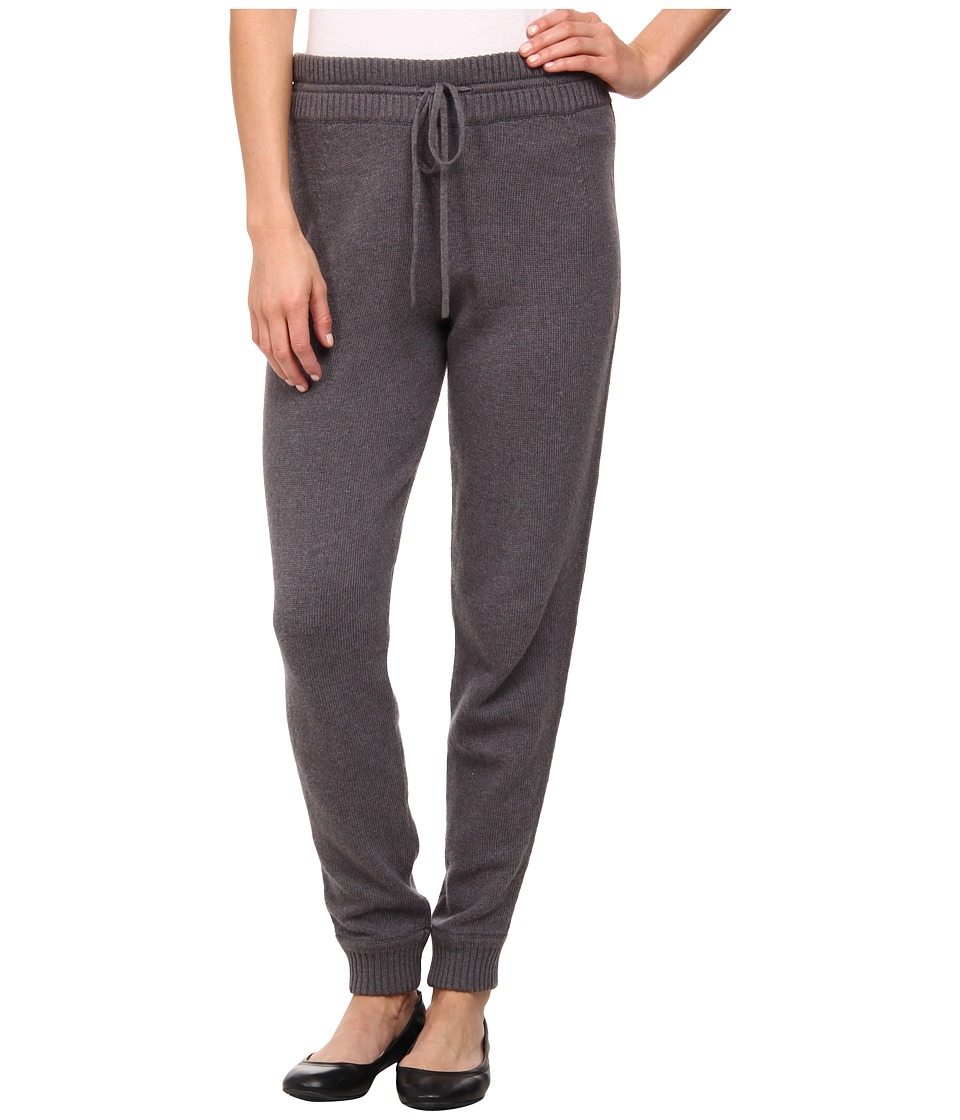 DKNYC - Drawstring Sweatpant (Anthracite Heather) Women's Casual Pants
