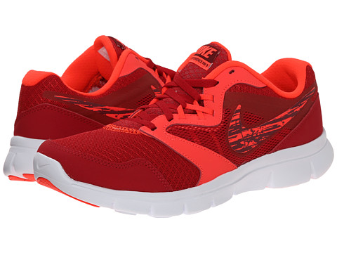Nike Kids - Flex Experience 3 (Big Kid) (Gym Red/Bright Crimson/White) Boys Shoes