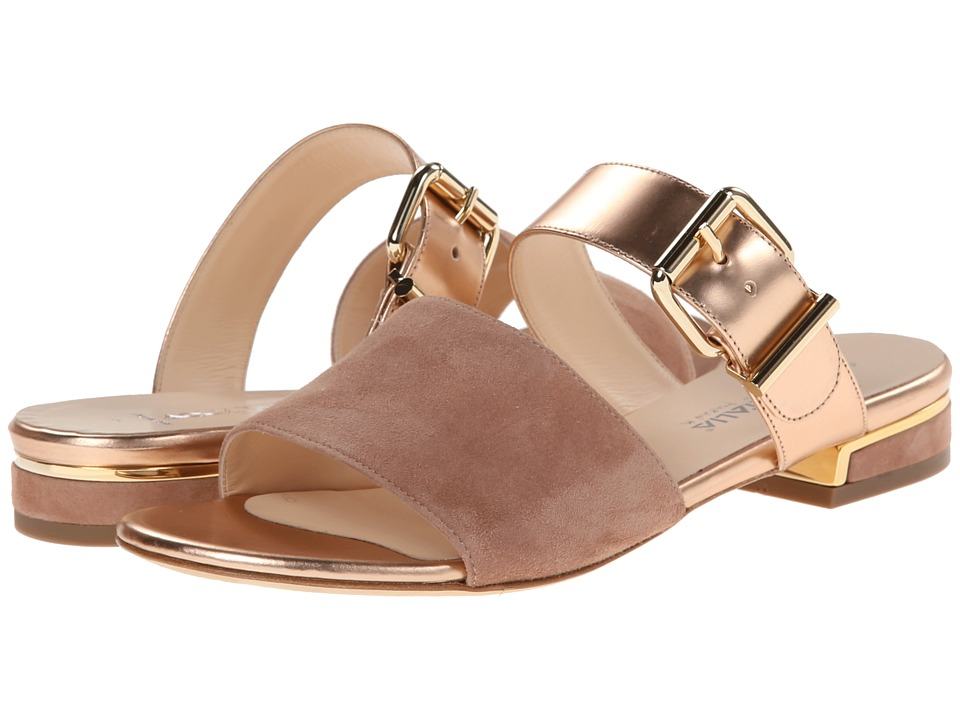 Aquatalia - Abash (Champagne/Rose Gold) Women's Sandals