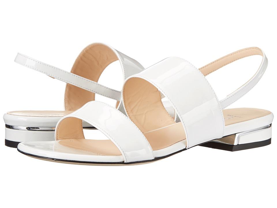 Image of Aquatalia - Adina (White Patent) Women's Sandals