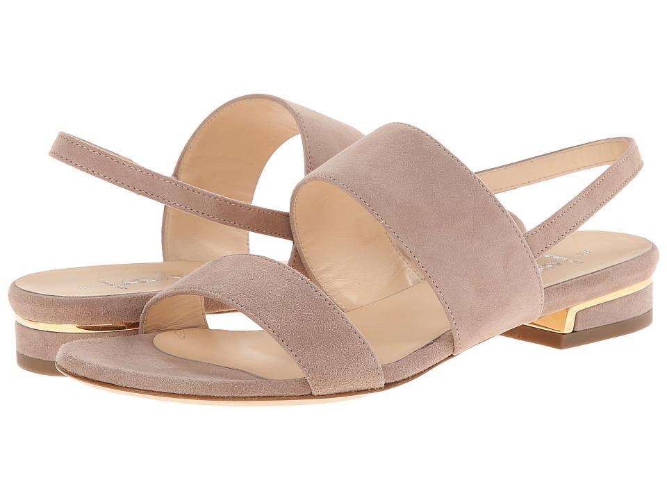 Aquatalia - Adina (Stone Suede) Women's Sandals