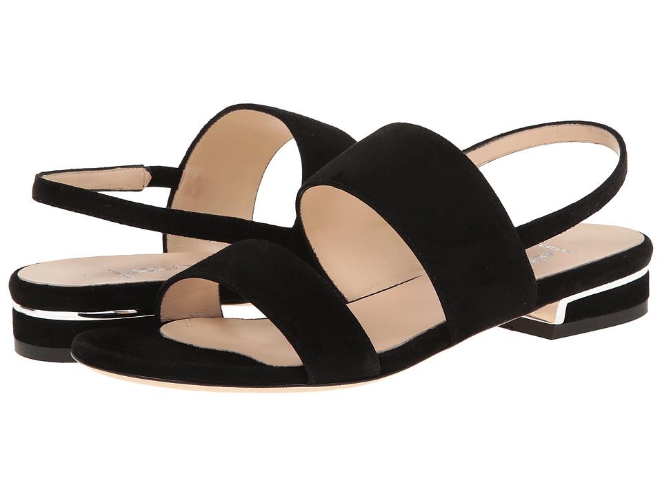 Image of Aquatalia - Adina (Black Suede) Women's Sandals