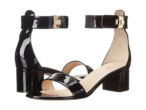 Aquatalia - Catty (Black Patent) Women's Dress Sandals