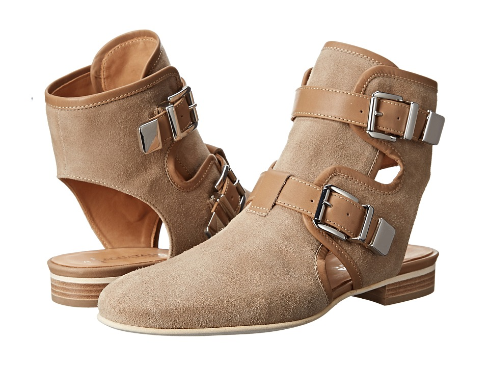 Aquatalia - Coy (Castoro Suede/Calf) Women's Pull-on Boots