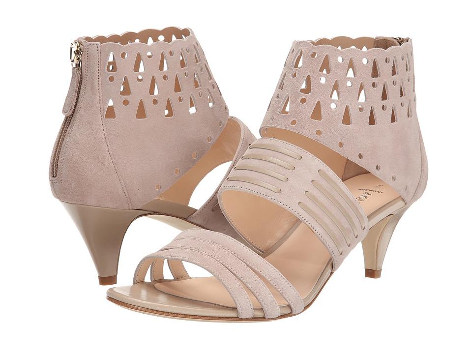 Aquatalia - Delight (Stone Suede) Women's Dress Sandals