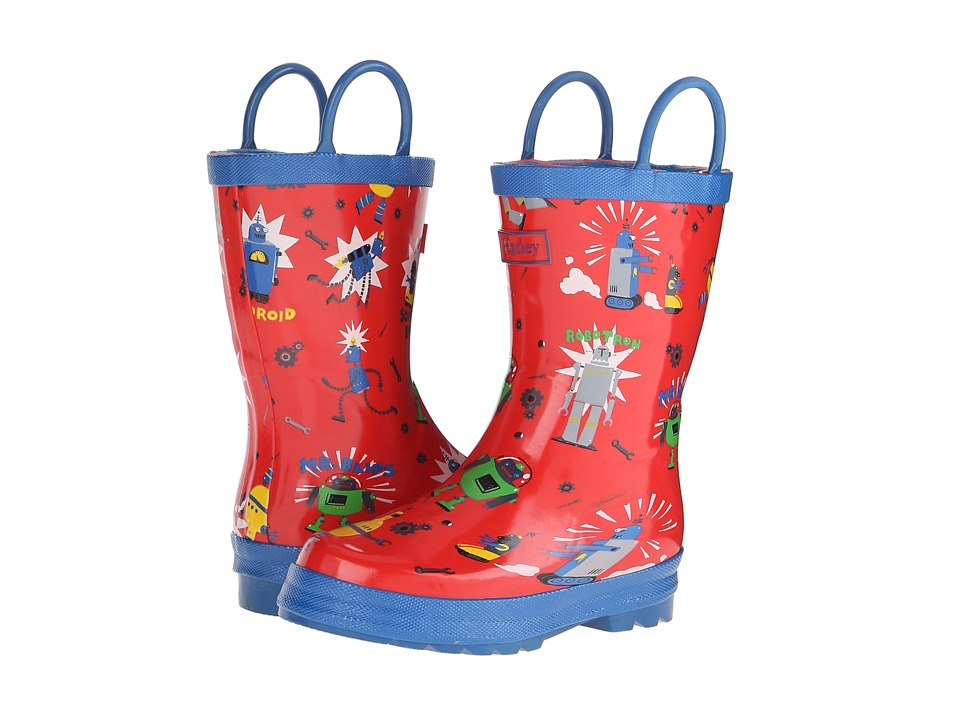 Hatley Kids - Rainboots (Toddler/Little Kid) (Robots) Boys Shoes