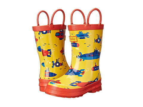 Hatley Kids - Rainboots (Toddler/Little Kid) (Submarines) Boys Shoes