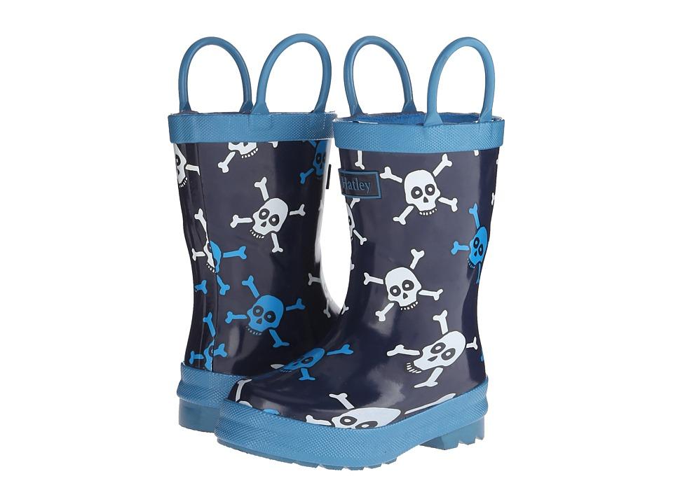 Hatley Kids - Rainboots (Toddler/Little Kid) (Skulls) Boys Shoes