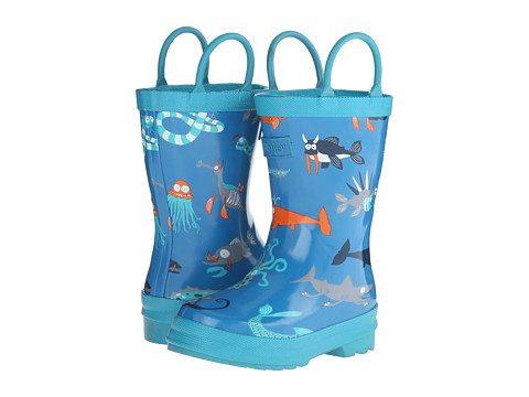 Hatley Kids - Rainboots (Toddler/Little Kid) (Sea Creatures) Boys Shoes