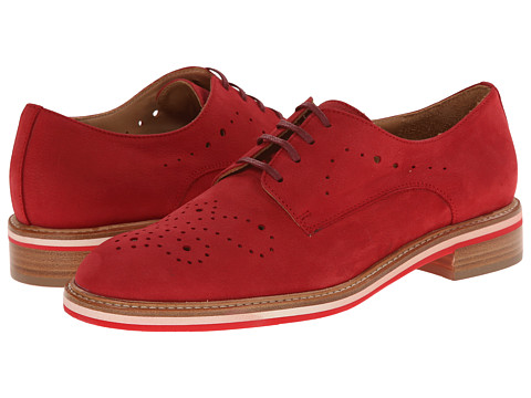 Aquatalia - Empower (Red Nubuck) Women