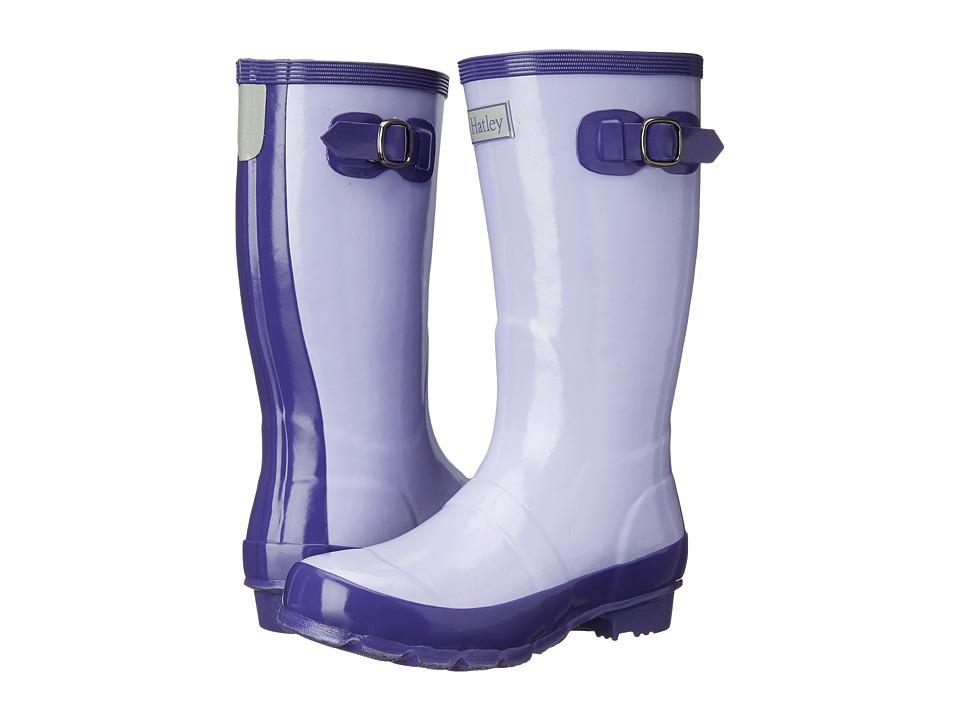 Hatley Kids - Splash Boots (Toddler/Little Kid) (Lavendar/Deep Purple) Girls Shoes