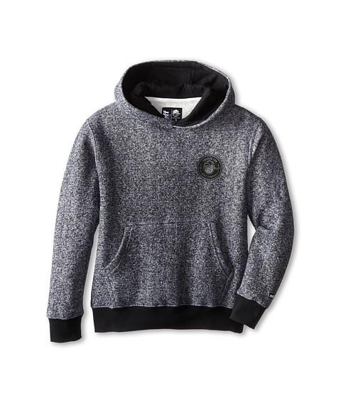Neff Kids - Fun Emblem Hoodie (Big Kid) (Charcoal Heather) Boy's Sweatshirt