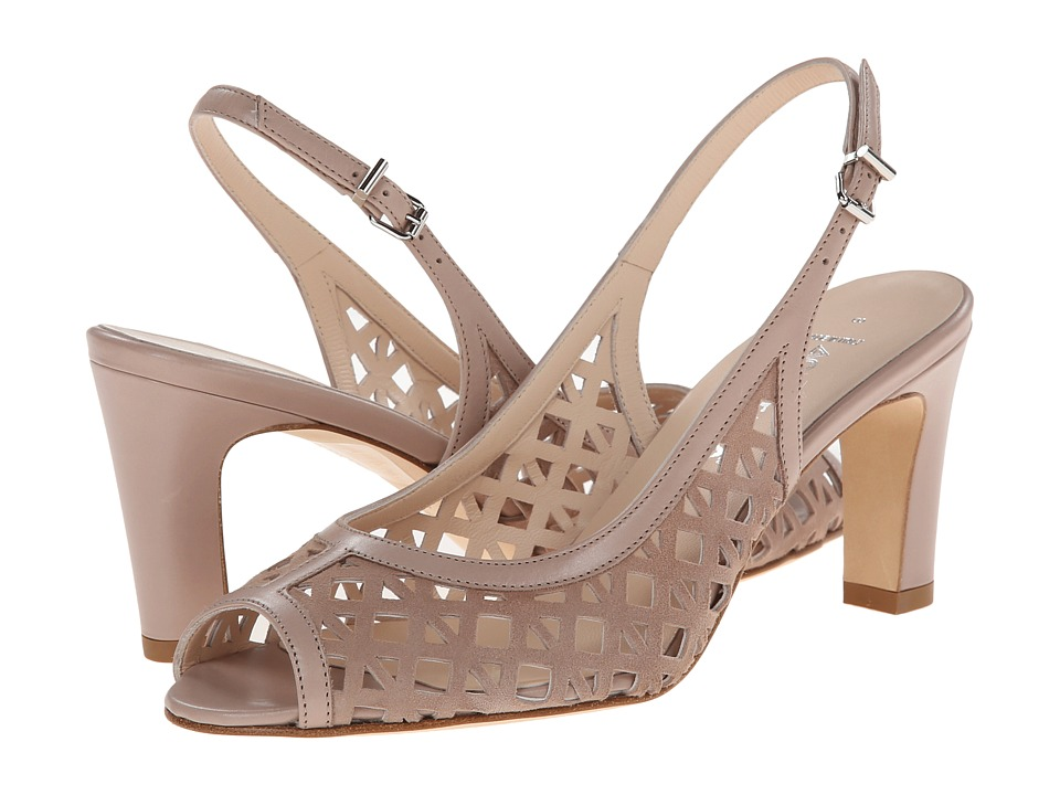 Aquatalia - Lee (Stone Suede/Calf) Women's Sling Back Shoes