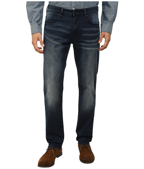 DKNY Jeans - Bleecher Knit Jean in Meade Dark Indigo Wash (Indigo) Men's Jeans
