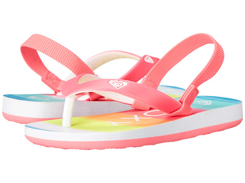 Roxy Kids - Tahiti V (Toddler) (Rainbow) Girls Shoes