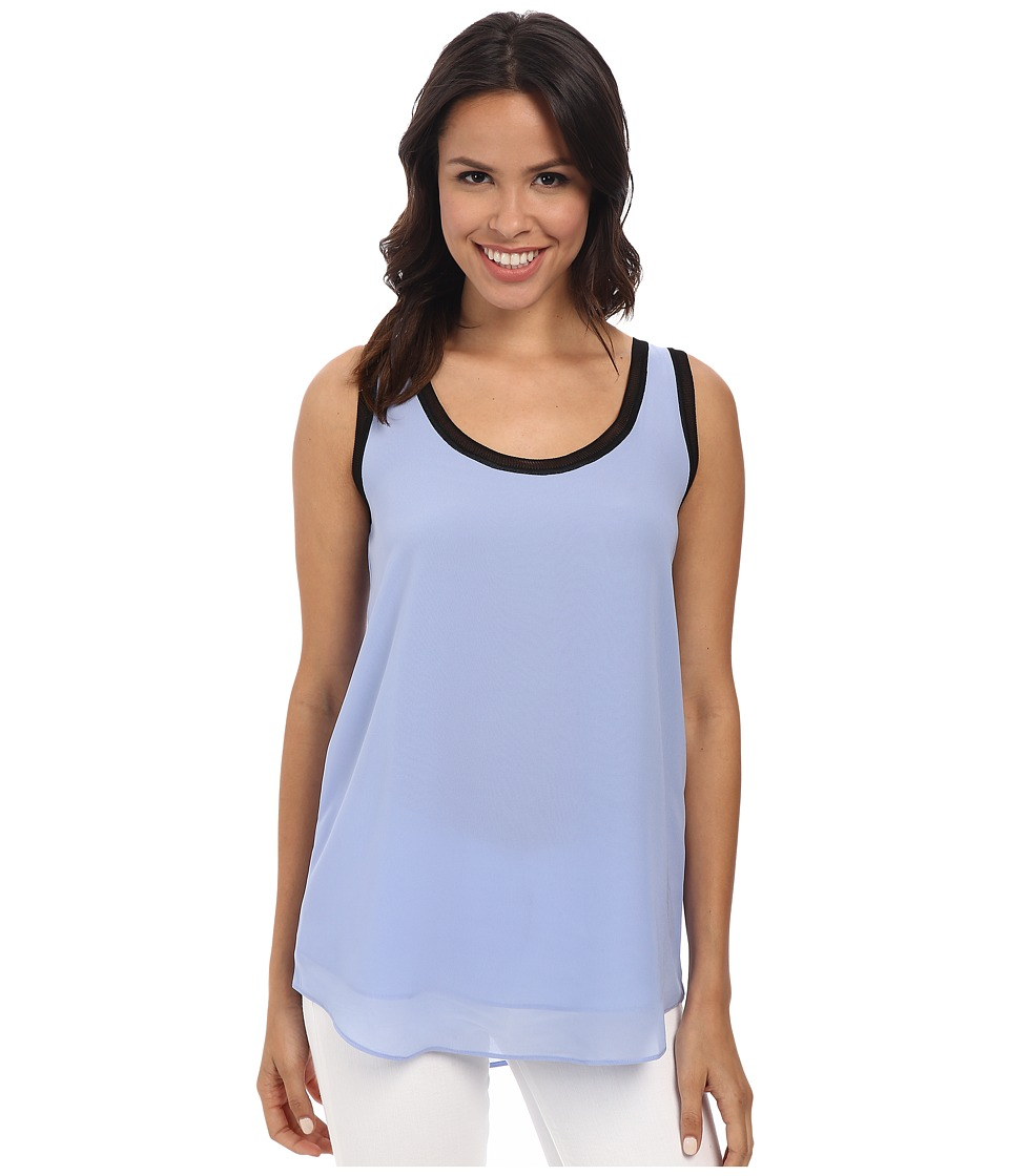NIC+ZOE - Mixed Trim Top (Wildflower) Women's Sleeveless