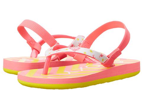 Roxy Kids - Pebbles V (Toddler) (Pink/Raspberry) Girl's Shoes