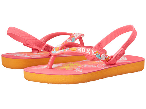 Roxy Kids - Sandee (Toddler) (Hot Pink) Girls Shoes