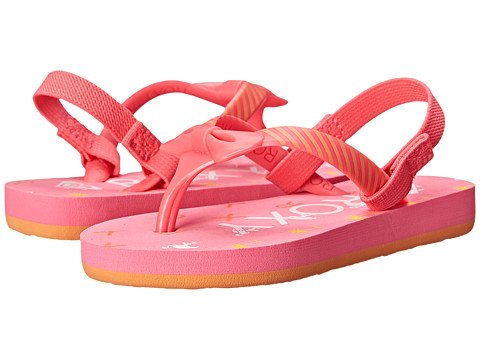 Roxy Kids - Fifi (Toddler) (Pink) Girls Shoes