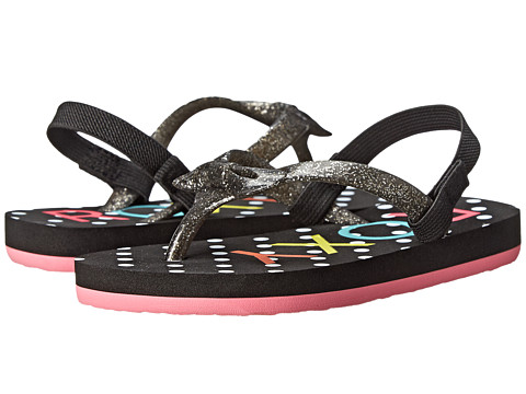 Roxy Kids - Fifi (Toddler) (Black) Girls Shoes