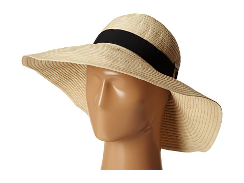 LAUREN by Ralph Lauren - Signature GrosGrain Sunhat (Safari Tan) Caps