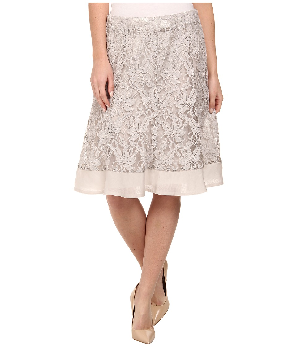 NIC+ZOE - Heirloom Flowers Skirt (Powder) Women's Skirt