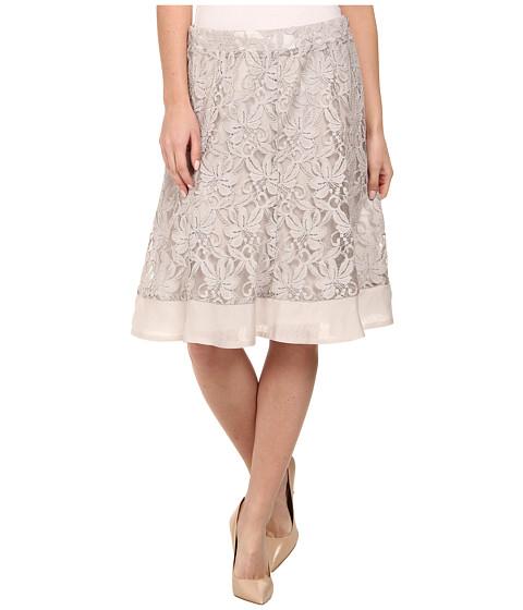NIC+ZOE - Heirloom Flowers Skirt (Powder) Women