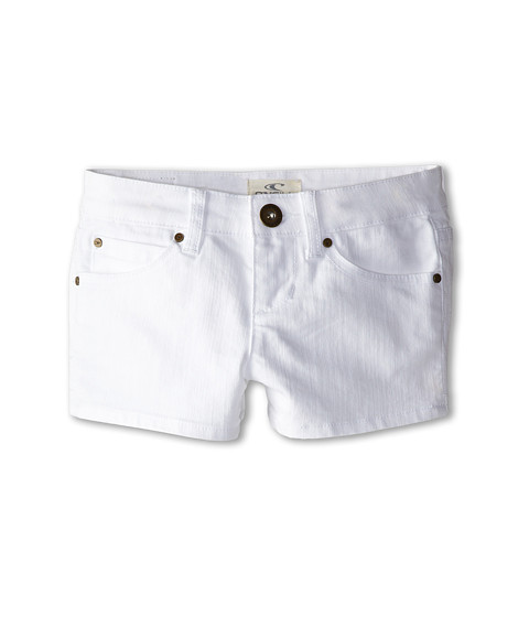 O'Neill Kids - Monique WHT (Big Kids) (White) Girl's Shorts