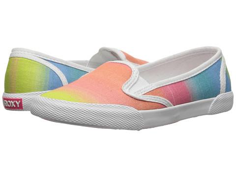 Roxy Kids - Malibu (Little Kid/Big Kid) (Rainbow) Girls Shoes