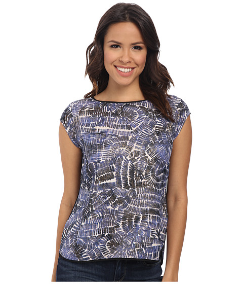 NIC+ZOE - Stepping Stones Top (Multi) Women