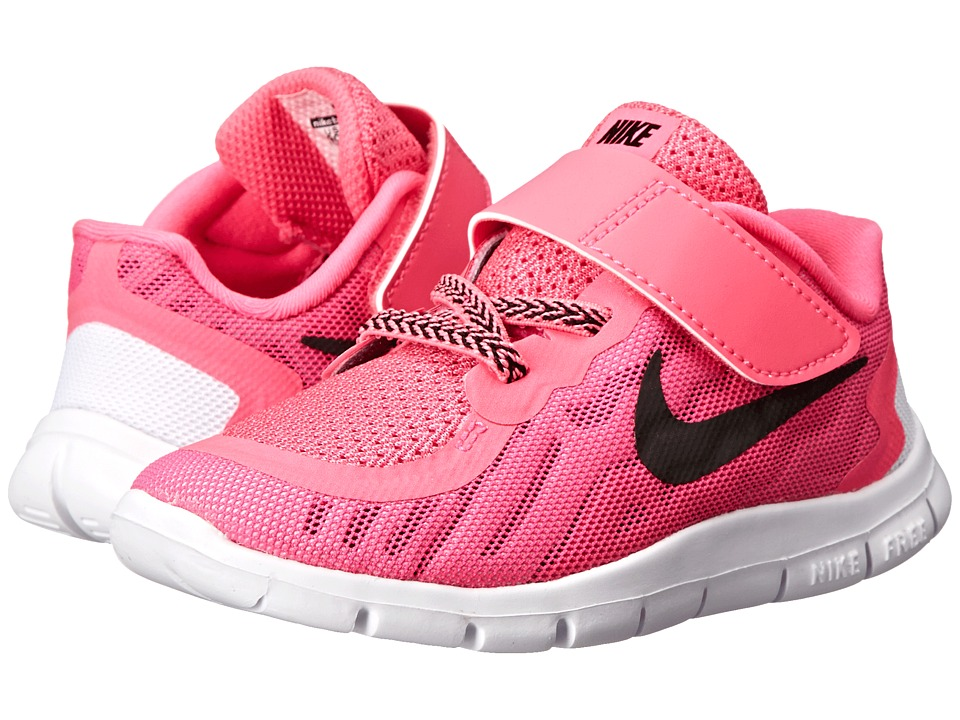 Nike Kids - Free 5 (Infant/Toddler) (Pink Pow/Vivid Pink/White/Black) Girls Shoes