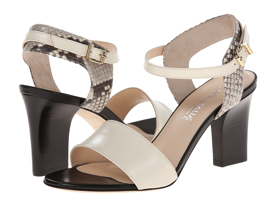 Aquatalia - Vansy (Black/Bone Combo) High Heels