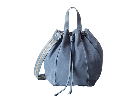 Aquatalia - Kibitz (Sky Nubuck Combo) Shoulder Handbags